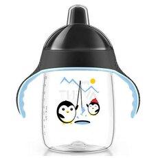 AVENT Κύπελλο με στόμιο για γουλιές χωρίς διαρροές με Μαύρο Καπάκι 18+μηνών 340ml SCF755/03
