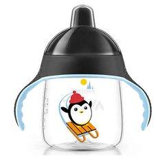 AVENT Κύπελλο με στόμιο για γουλιές χωρίς διαρροές με Μαύρο Καπάκι 12+μηνών 260ml SCF753/03