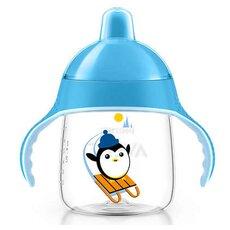 AVENT Κύπελλο με στόμιο για γουλιές χωρίς διαρροές Μπλε 12+μηνών 260ml SCF753/05