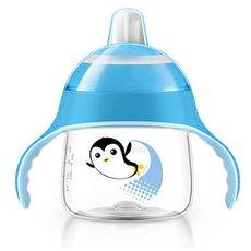 AVENT Κύπελλο με στόμιο για γουλιές χωρίς διαρροές Μπλε 6+μηνών 200ml SCF751/05