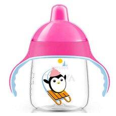 AVENT Κύπελλο με στόμιο για γουλιές χωρίς διαρροές Ροζ 12+μηνών 260ml SCF753/07
