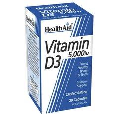 HEALTH AID Vitamin D3 5000i.u, 30Tabs