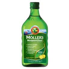 MOLLER'S Μουρουνέλαιο Lemon 250ml