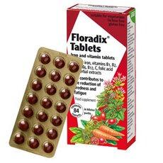 POWER HEALTH Floradix Συμπλήρωμα Διατροφής για την 'Ελλειψη Σιδήρου 84 δισκία