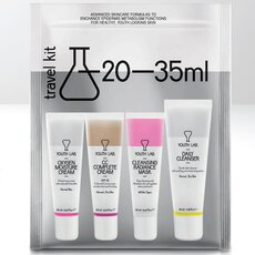YOUTH LAB Travel Kit Κανονικές-Μεικτές Επιδερμίδες Daily Cleanser 35ml + Cleansing Radiance mask 30ml + CC Complete Cream 20ml + Oxygen Moisture Cream 20ml) - 1τμχ