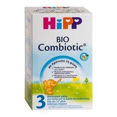 HiPP 3 Bio Combiotic γάλα για νήπια από τον 12ο μήνα 600γρ