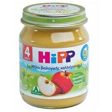 HiPP Φρουτόκρεμα με Μήλο βιολογικής καλλιέργειας μετά τον 4ο μήνα 125γρ