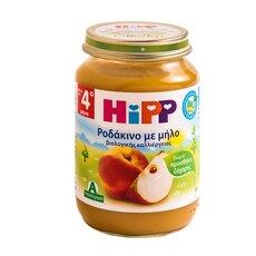 HiPP Φρουτόκρεμα με Ροδάκινο και Μήλο βιολογικής καλλιέργειας μετά τον 4ο μήνα 190γρ