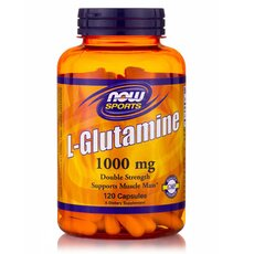 NOW FOODS Sports L-Glutamine 1000mg 120tabs
