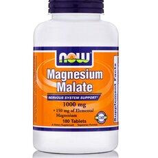 NOW FOODS Magnesium Malate 1000mg 180tabs