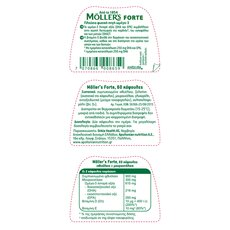 MOLLER'S Forte Omega-3 60caps, fig. 1