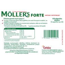 MOLLER'S Forte Omega-3 150caps, fig. 1