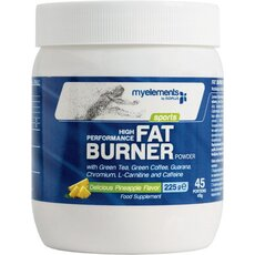 MyElements Sports High Performance Fat Burner powder με γεύση Ανανά 225gr