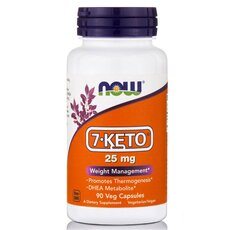 NOW FOODS 7-KETO 25mg 90Vcaps