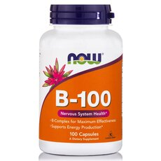 NOW FOODS Vitamin B-100 100 Caps