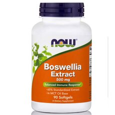 NOW FOODS Boswellia Extract 500mg 90softgels