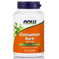 NOW FOODS Cinnamon Bark 600mg 120caps