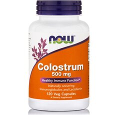 NOW FOODS Colostrum 500mg 120Vcaps