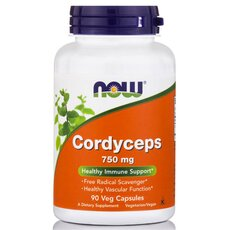 NOW FOODS Cordyceps 750mg 90Vcaps