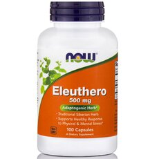 NOW FOODS Eleuthero 500mg 100caps