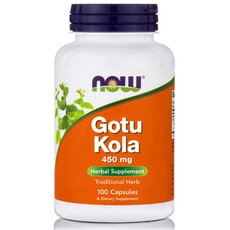 NOW FOODS Gotu Kola 450mg 100caps