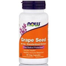 NOW FOODS Grape Seed Antioxidant 60mg 90Vcaps