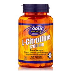 NOW FOODS L-Citrulline 1200mg 120Vcaps
