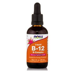 NOW FOODS B-12 Complex Liquid 2 Oz 59.2ml