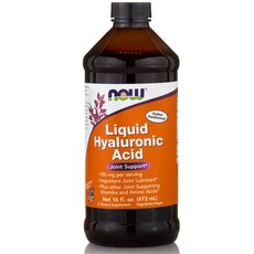 NOW FOODS Hyaluronic Acid 100mg Liquid 16 Oz 473.1ml