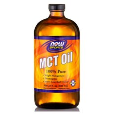 NOW FOODS MCT Oil 100% Pure Vegeterian 32 Oz 946.2ml