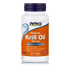 NOW FOODS Neptune Krill Oil 500mg 60softgels