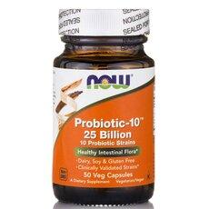 NOW FOODS Probiotic-10 25 Billion 50Vcaps