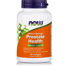NOW FOODS Prostate Health Clinical Strength 90softgels