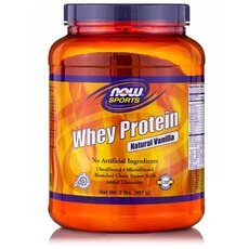 NOW FOODS Sports Whey Protein με Γεύση Βανίλια 908gr