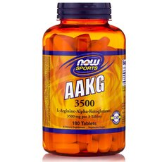 NOW FOODS Sports AAKG 3500 180tabs