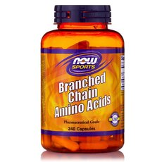 NOW FOODS Sports Branched Chain Amino Acid (BCAA) 120caps
