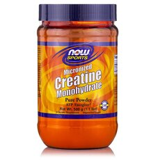NOW FOODS Sports Creatine Monohydrate Micronized Powder Vegeterian 500gr
