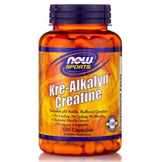 NOW FOODS Sports Kre-Alkalyn Creatine 120caps