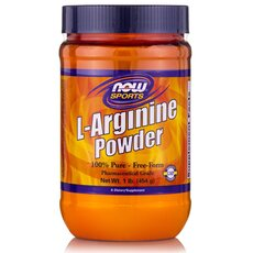 NOW FOODS Sports L-Arginine Powder 454gr