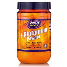 NOW FOODS Sports L-Glutamine Pure Powder 454gr