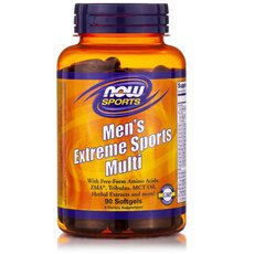 NOW FOODS Sports Men's Extreme Sports Multi 90softgels