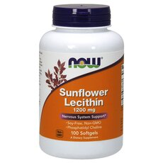 NOW FOODS Lecithin Sunflower 1200 mg 100softgels