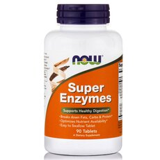 NOW FOODS Super Enzymes 90tabs