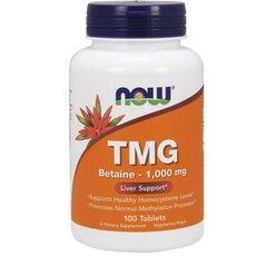 NOW FOODS TMG 1000mg Trimethylglycine 100tabs