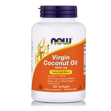 NOW FOODS Coconut Oil Virgin 1000mg 120softgels