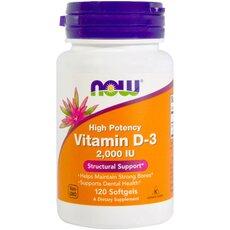 NOW FOODS Vitamin D-3 1000iu 180 softgels