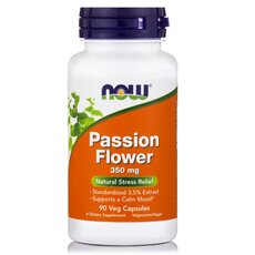 NOW FOODS Passion Flower Extract 350mg 90Vcaps