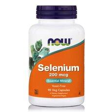 NOW FOODS Selenium 200 mcg Yeast Free Vegetarian 90Vtabs