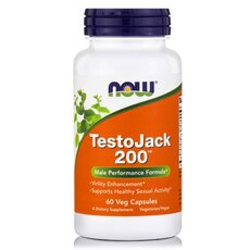 NOW FOODS TestoJack 200 200mg 60Vcaps
