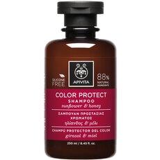 APIVITA Color Protect Shampoo Σαμπουάν Προστασίας Χρώματος με Ηλίανθο & Μέλι 250ml